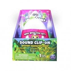 Wish Factory Hatchimals - Pluszowy brelok w jajku z dźwiękiem 10 cm Ast.