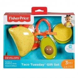 Fisher Price Taco Sensoryczny zestaw zawieszek