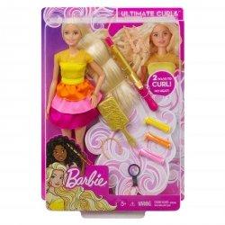 Barbie Lalka Stylowe Loki Zestaw DIY Mattel