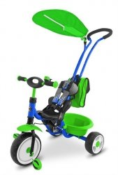 Rowerek Boby Deluxe 2014 Blue - Green P Milly Mally