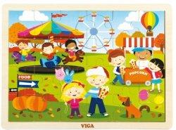 Puzzle cztery pory roku - jesień Viga