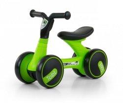 Jeździk rowerek biegowy Tobi Black-Green Milly Mally