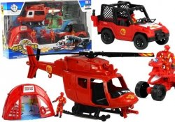 Zestaw Strażacki Helikopter Straż Pożarna