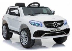Auto  na Akumulator Mercedes GLE 63S Biały