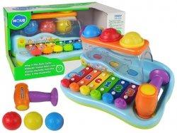 Edukacyjne cymbałki dla malucha + młoteczek