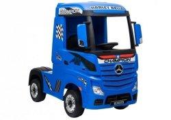 Auto Ciężarówka Tir  na Akumulator Mercedes Actros Niebieski Lakier