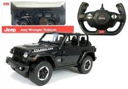 Auto zdalnie sterowane  R/C Jeep Wrangler Rubicon 1:14 Rastar Czarny