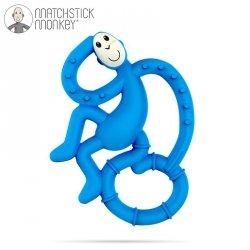 Gryzak Masujący Matchstick Mini Monkey Blue