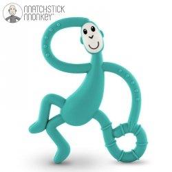 Terapeutyczny Gryzak Masujący ze Szczoteczką Matchstick Monkey Dancing Green