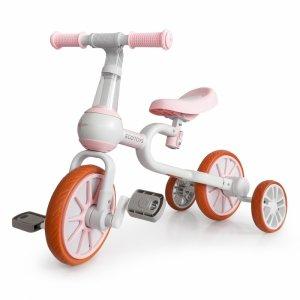 Rowerek biegowy 4w1 Pedały Kółka boczne