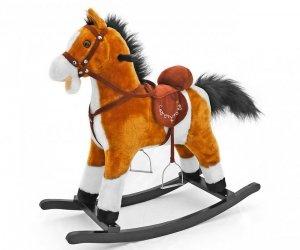 Konik na biegunach Mustang jasny brąz  Milly Mally