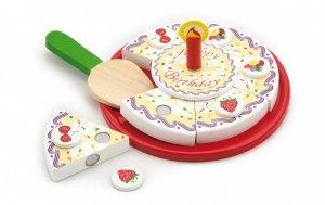 Drewniany tort do krojenia Viga