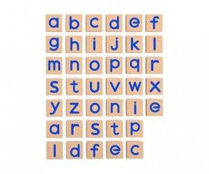 Drewniany zestaw magnetycznych literek - 40 elementów Viga