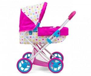 Wózek dla lalek Alice Candy Milly Mally