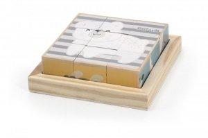 Drewniane puzzle kostki 9 elementów PolarB Viga