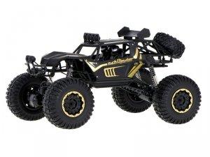 Auto zdalnie sterowane RC Rock Crawler 2.4GHz 1:8 51cm czarny
