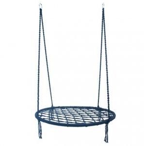 Bocianie Gniazdo huśtawka niebieskie 60cm