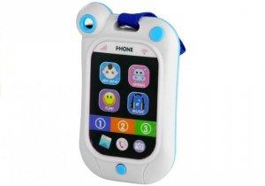 Komórka Dotykowy Telefon Dla Malucha Dźwięki Biały