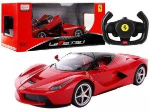 Auto  zdalnie sterowane R/C Ferrari Rastar 1:24 Czerwone na pilota