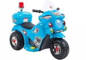 Motor motorek na akumulator dla dzieci Niebieski