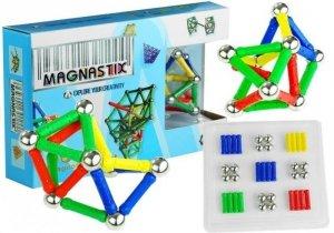 Zestaw klocki magnetyczne Magnastix 60el
