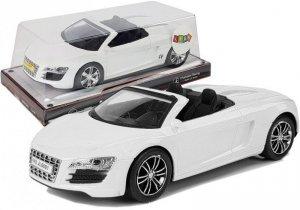 Autko z Naciągiem Kabriolet Białe 1:18