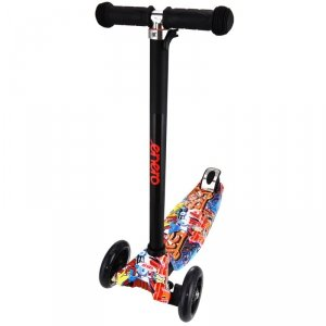 Hulajnoga dla dzieci 3 kołowa balansowa Enero Maxi Colic