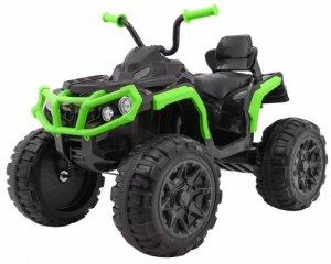 Quad na akumulator dla dzieci ATV Czarno-Zielony