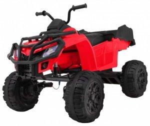 Quad na akumulator dla dzieci XL ATV Czerwony