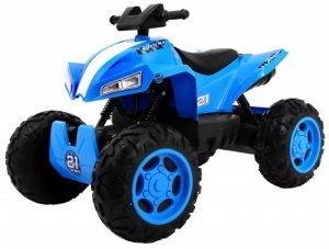 Quad na akumulator dla dzieci Sport Run 4x4 Niebieski