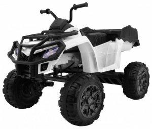 Quad na akumulator dla dzieci XL ATV Biały