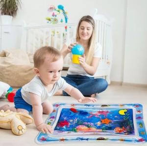 Mata wodna sensoryczna dla niemowląt