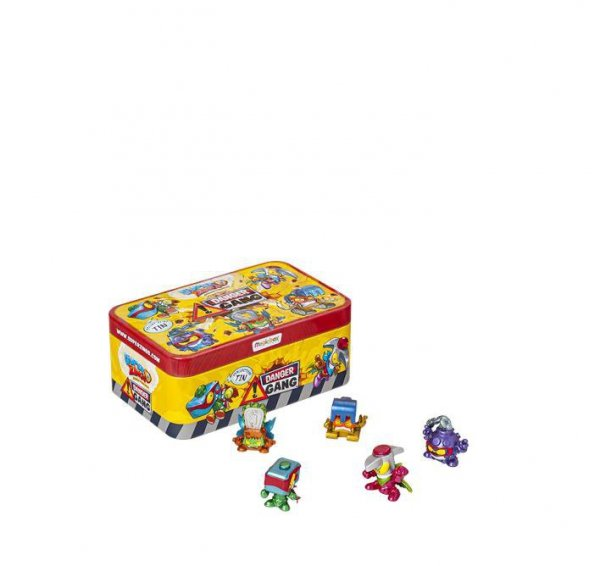 SuperZings Danger Gang Tin Magic Box