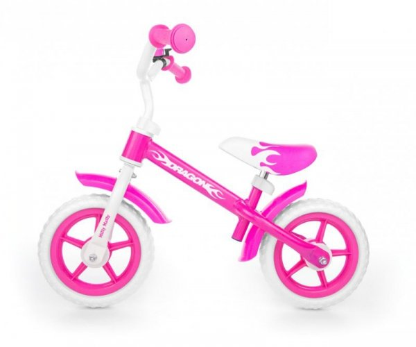 Rowerek Biegowy Dragon pink Milly Mally
