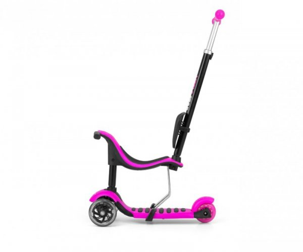 Hulajnoga Scooter Little Star Pink 3w1 Milly Mally