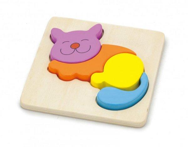 Pierwsze puzzle maluszka - kot Viga