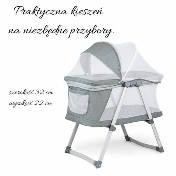 Łóżeczko / Kołyska Jane Beige Milly Mally