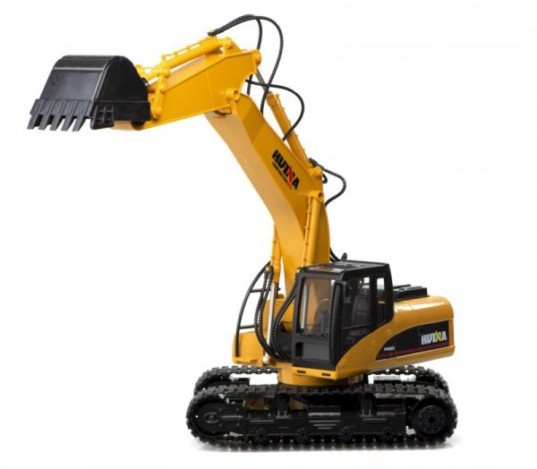 Zdalnie sterowana Koparka RC H-Toys 1550 gąsiennice 15CH 2.4Ghz 1:14