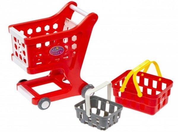 Kasa Fiskalna + koszyk, wózek, akcesoria