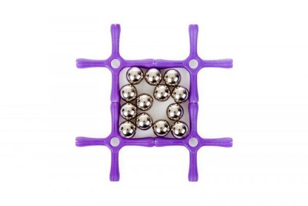 Klocki magnetyczne Konstrukcyjne WITKA Magnet 250szt