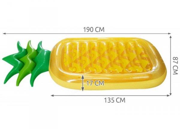 Materac dmuchany Ananas 190x90cm