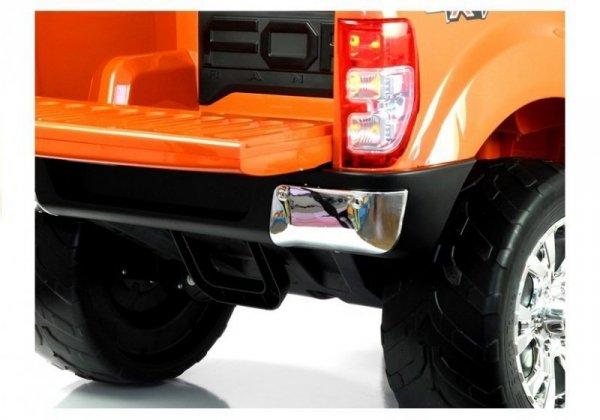 Auto na akumulator Ford Pomarańczowy lakier 4x4