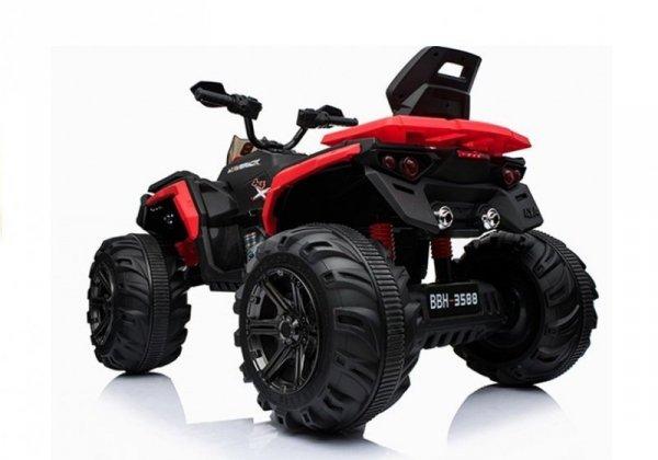 Quad na akumulator BBH3588 Czerwony