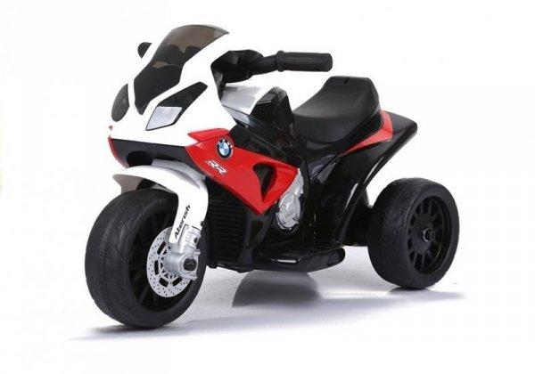 Motor na akumulator BMW S1000RR Trójkołowy Czerwony