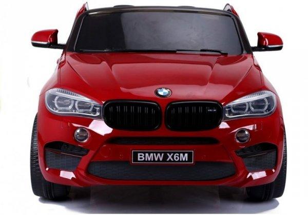Auto na Akumulator Nowe BMW X6M Czerwone Lakierowane