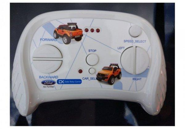 Auto na Akumulator Ford Ranger 4x4 Czarny Lakier LCD