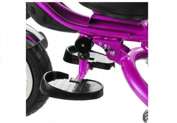Rower Trójkołowy PRO600 Fioletowy