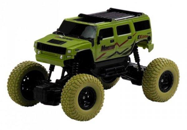 Auto Zdalnie Sterowane Jeep R/C 1:18 Zielone