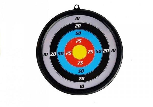 Kusza z tarczą + 3 Strzały Kołczan Celownik Laser