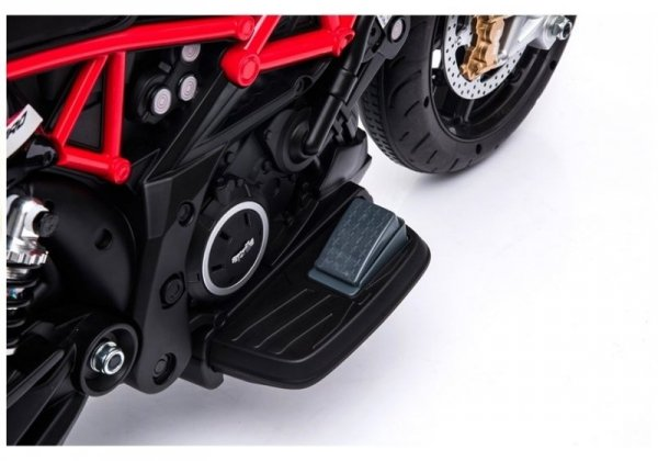 Motor na Akumulator Aprilia A007 czerwony